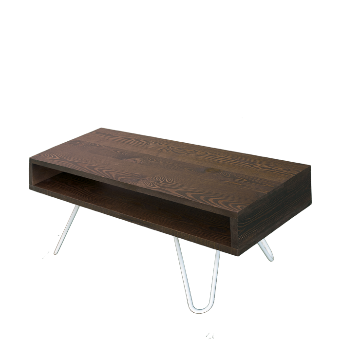 Mobile solid wood TV holder